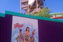 Ihu's Breakaway Fall's at Aquatica - Orlando / Ihu's Breakaway Falls at SeaWorld's water park... Aquatica