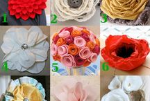 Faux Flower Crafts