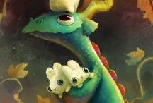 Dragons / by Piper Murray