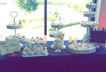 Dessert & candy stations at Eagle Creek