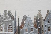 Dutch canal houses