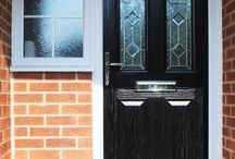 Installations: Composite Front Doors / Stunning Front Door Ideas by Marton Windows, We love adding colour, style and character to any home! Heres some beautiful Composite Doors to give you inspiration for your Home!