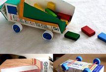 Manualitats reciclatge - tetrabricks