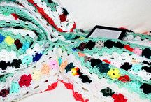 Afghans - Crocheted or Knit / Afghan blankets that are either crocheted or knit.