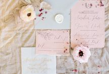 Wedding Stationery and Calligraphy / Custom Wedding Invitations and Calligraphy by Sophia Loves Letters