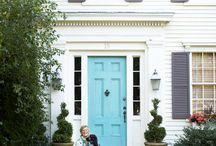 Front door ideas / by Nancy Fischer Peach