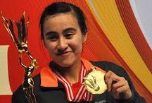 Women player of Indonesia