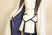 Military Lolita, Stylized military fashion