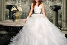 Wedding Gowns / Amazing selection of the latest wedding gowns, contact Snow White & the Seven Dresses at www.berniessecret.co.za