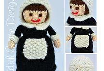 Doll Knitting Patterns Ravelry Store