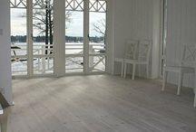 Husdetaljer (golv, fönster, tak mm)