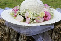 Bride hat country style