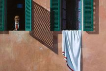 Non-American precisionism / Precisionist art that's not by American artists