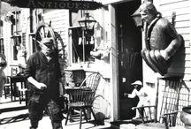 Antique/vintage Shops and markets