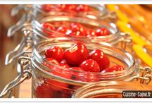 cerises - fraises - framboises - abricot
