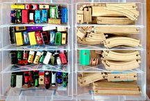 toy train storage ideas