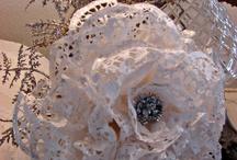 fiori con centrini