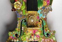 Gitarı mozayikleme