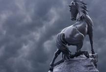 Horse sculpturess/figures / by Luanna Parker