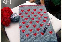 Jacquard o Tapestry crochet / Técnica de crochet