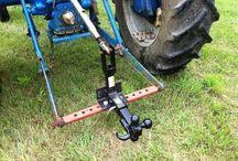 Traktor / utstyr