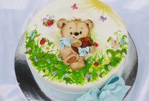 Malované dorty