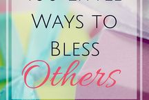 Ways to Bless Others