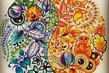 terapia em forma de colorir