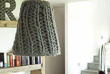 Lámparas crochet