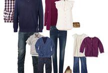 Outfits fürs Familienfoto