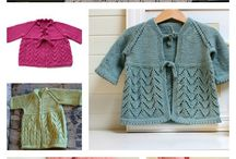 Knitting patterns / To do