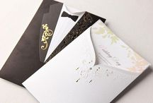 Casamento ♥ Convite de Casamento / Ideias e inspirações de convites de casamento. Sugestões de modelos, dicas e inpirações.