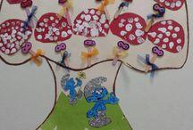 Smurfs crafts