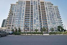Real Estate Listing - 203 - 50 Disera Dr THORNHILL, ON / Bathurst & Centre Spacious 1Bdrm + Den Condo Desirable,Thornhill City Center.Well Maintained Like New With Extremely Functional Layout.Excellent Location.Close To Promenade Mall,Walmart Plaza,Ttc,Schools,Hwy 407,Etc.Great Amenities Include Swimming Pool,Gym,Sauna,Guest Suit,Media Room,Party/Meeting Room.