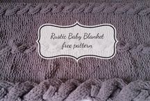 Free Baby Blanket Patterns / Simple knit and crochet free baby blanket patterns