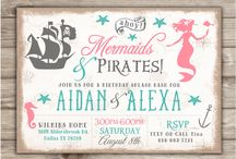 Pirates/Marmaid party