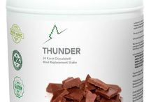 Thunder Meal Replacement Shakes / Drink just one Thunder Meal Replacement Shake and you will never, ever choose another brand again.  http://www.thunder-shakes.com