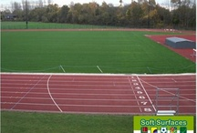 Polymeric Surfacing Sports Rubber Pitch All Weather Surfaces