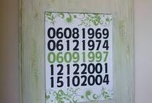 Narozeniny - kalendar