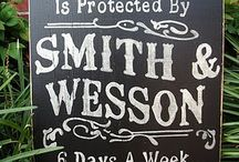 Sign Boards Guns