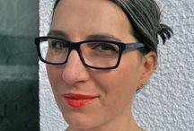 Makeup and gray hair