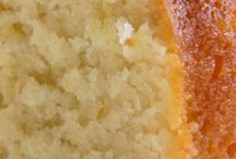 Lemon pound cakes