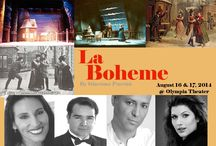 Images for La Boheme / LA VIE BOHEME . . .   . . . on August 16 & 17, the stage of the Olympia Theater will be transformed into the Latin Quarter of 19th Century Paris for Puccini's opera LA BOHEME! MIAMI LYRIC OPERA  Tickets at: http://olympiatheater.org/events. See you in the audience!