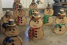 Xmas wood crafts