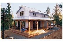 Home Away from Home / Daydreaming about a beach house or a mountain cabin. Tag words: rustic, cabin, cottage, shack, vacation home, second home, small house, eco-friendly home, porch, screened-in porch, log cabin, beach, marsh, woodlands, barn.