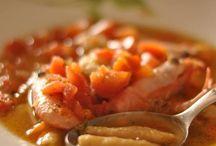 Chef con il mestolo in mano / Le minestre da cucchiaio degli chef