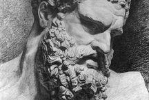 statue plaster