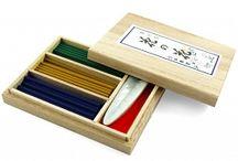 Japońskie kadzidełka / Naturalne kadziła o niezwykłych, delikatnych zapachach. Nippon Kodo