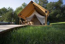 Safari Glamping tents at our resort