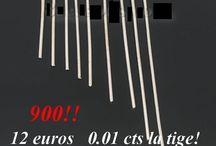 tiges clou lot de 900